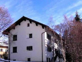 Chesa Ses Fluors Celerina appartamento curato vicino a impianti e piste di sci
