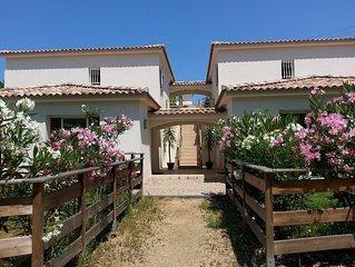 Petite residence de charme a 10 mn a pied de la plage d'Agosta