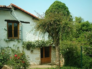 Rose Cottage; with private pool, garden and childrens play area.  Sleeps 4+baby