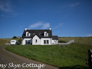 Isle of Skye - 3 bedroom 2 Bath room self-catering Cottage (11 miles to Portree)