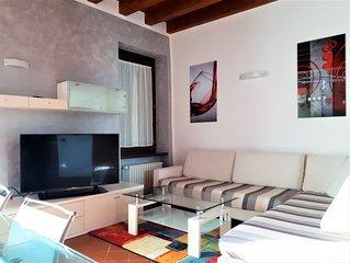 'pacengo' trilocale 5 posti letto ideale per famiglie e gruppi di amici.