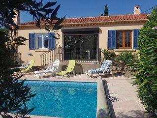 The séjour avec piscine privée à Flayosc en Provence
