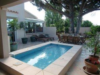 Magnifique appartement duplex 160m² air conditionné  dans villa de front de mer