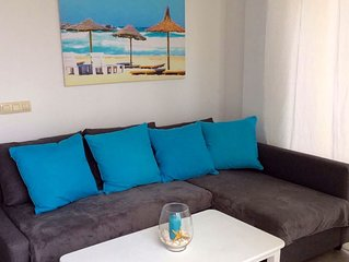 Apartamentos mirando al Mar mediterráneo en Cala Flores, Cabo de Palos
