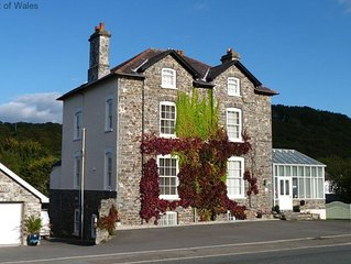 Not only is Llys yr Afon apartment a short walking distance from the delights of