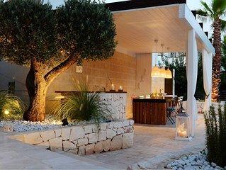 NILU: villa vista mare con mini-piscina hydro, MONOPOLI (Capitolo) - Puglia