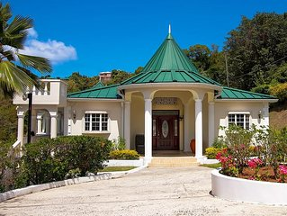 Secret Cove is often described as one of the most beautiful homes in St. Lucia.