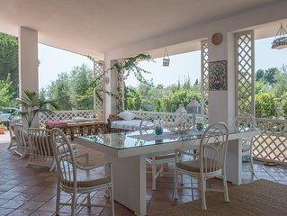 Villa Mare, sulla costa tra Gaeta e Sperlonga a pochi mt dal mare