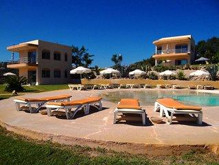Kefalosbay Residence appart R.D.C. & piscine & panorama sur la baie de Kefalos