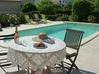 LOVELY 2 BED TRADITIONAL VILLA WITH SALT WATER POOL AND MOUNTAIN VIEWS