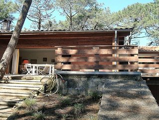 Maison dans les pins a 200m de la plage, au centre du Cap-Ferret