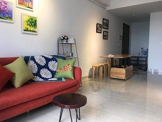 Two-bedroom apartment near the sea at Sunrise Ha Long