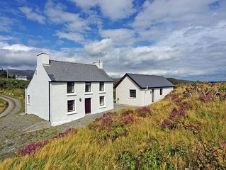 Traditional detached farmhouse near the end of the road and 200 yrds from the se