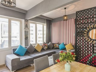 Great Location,1+1 Turkish Bath Apartment,Taksim 3