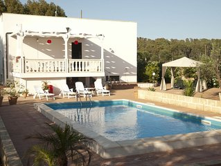 3 Bedroom Villa with pool set in it's own olive grove