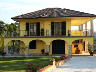 Natura vicino a Levanto e CinqueTerre,  giardino, barbecue, wifi free, relax