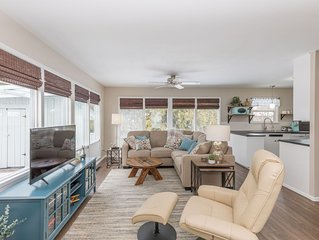 South Hill's Blue Bungalow, A Charming Single Story Home