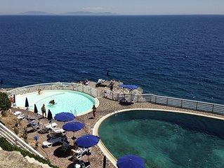 Villa sul Mare con piscina e spiaggia privata all'Isola d'Elba