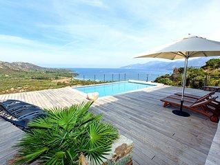 Magnifique villa, piscine & jacuzzi XXL, vue splendide, 16 personnes