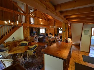 Spacious Chalet walking distance to gondola for winter and summer in Vallorcine