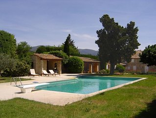 Provencal Luxury Village Bergerie with Pool - 1.5kms Lourmarin