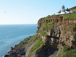 Vanguard is a cottage attached to Whitby Lighthouse in Yorkshire.