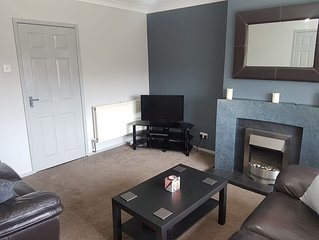 Large Modern Two Bedroom Apartment in Poulton Le Fylde, Backpool. Inc Netflix!