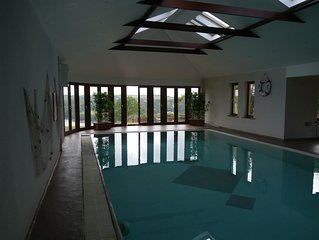 Luxury property with outstanding views and indoor pool and spa
