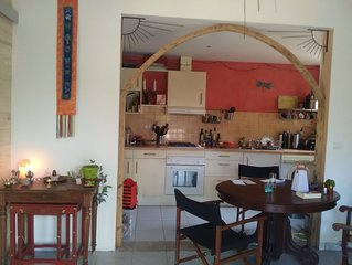 Exceptionnel  Culture and nature - House with garden , fully equiped