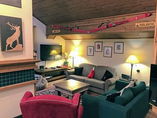 Luxury ski-in, ski-out apartment in Les Arcs 1950, sleeping up to 10