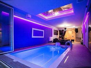 #1 Lux Party House with indoor Pool⭐Spa⭐Zen Yard⭐Belgrade