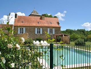 Belle villa pour 9 personnes avec piscine privée
