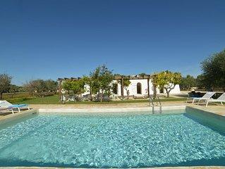 Traditional Trullo, 3 bedrooms & large pool in Ostuni, Puglia, Italy