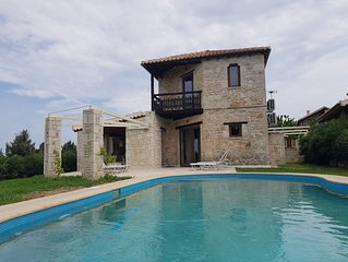 Two bedroom villa with private pool 'Aiva'