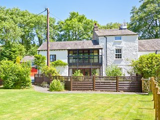 Gorgeous riverside cottage close to the shores of Coniston Water