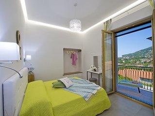 Confortevole Appartamento 'Verde Mare' in Agerola sulla Costiera Amalfitana