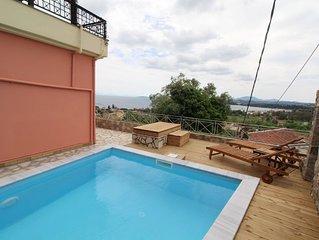 PYRGI VIEW EXECUTIVE ,Private pool,Glorious views !