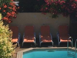 Maison Argeles s/Mer village 4 pers avec climatisation, jardin et piscine privee