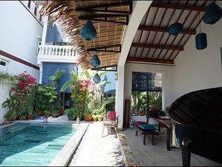 Villa Del Mar An Bang, Hoi An-5 mins walk to Beach