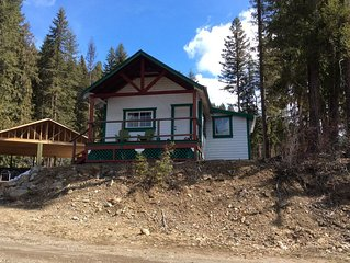 RIVERS EDGE ~ A RIVER VIEW COTTAGE ON THE QUESNEL RIVER, LIKELY BC