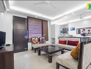 Place for House Party up 10 Guests (3BHK Apt) at Chattarpur, New Delhi
