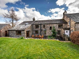 Fabulous spacious cottage, stunning location perfect for families, dogs welcome