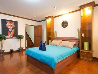 4 Bedrooms cozy Villa in Bangkok Center