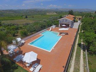 Appartamento in villa con piscina - appartamento mini