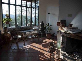 Villa Nèfisi, tre camere, ampi spazi e giardino