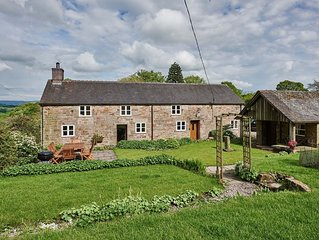 Croft Meadows Farm -  5 bedroom, dog friendly cottage in rural Staffordshire