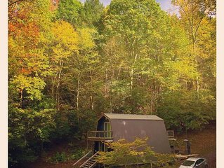 Modern Cabin near Max Patch
