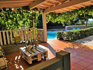 Maison de charme avec piscine et jardin