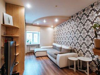 Cosy apartment in Riga center, very close to OldTown (+bonus: free taxi ride)