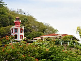 The Lighthouse Ocotal. Close to the beach.